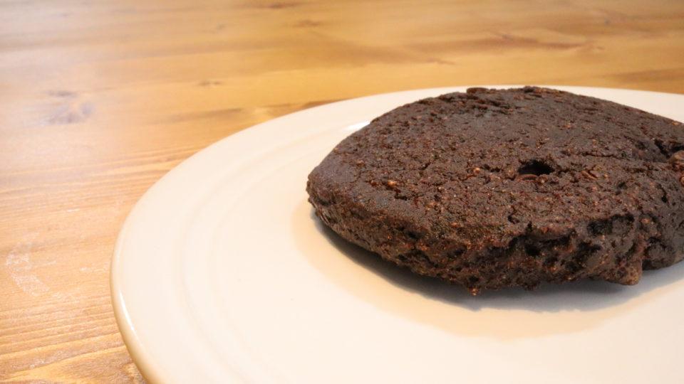 ブラウニーのチョコレート味