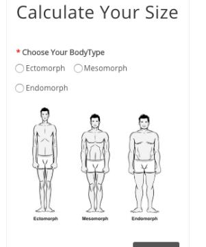 ヘラヒーローのサイズ診断